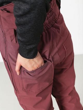 Spodnie snowboardowe Burton Avalon Bib Wmn (rose brown)