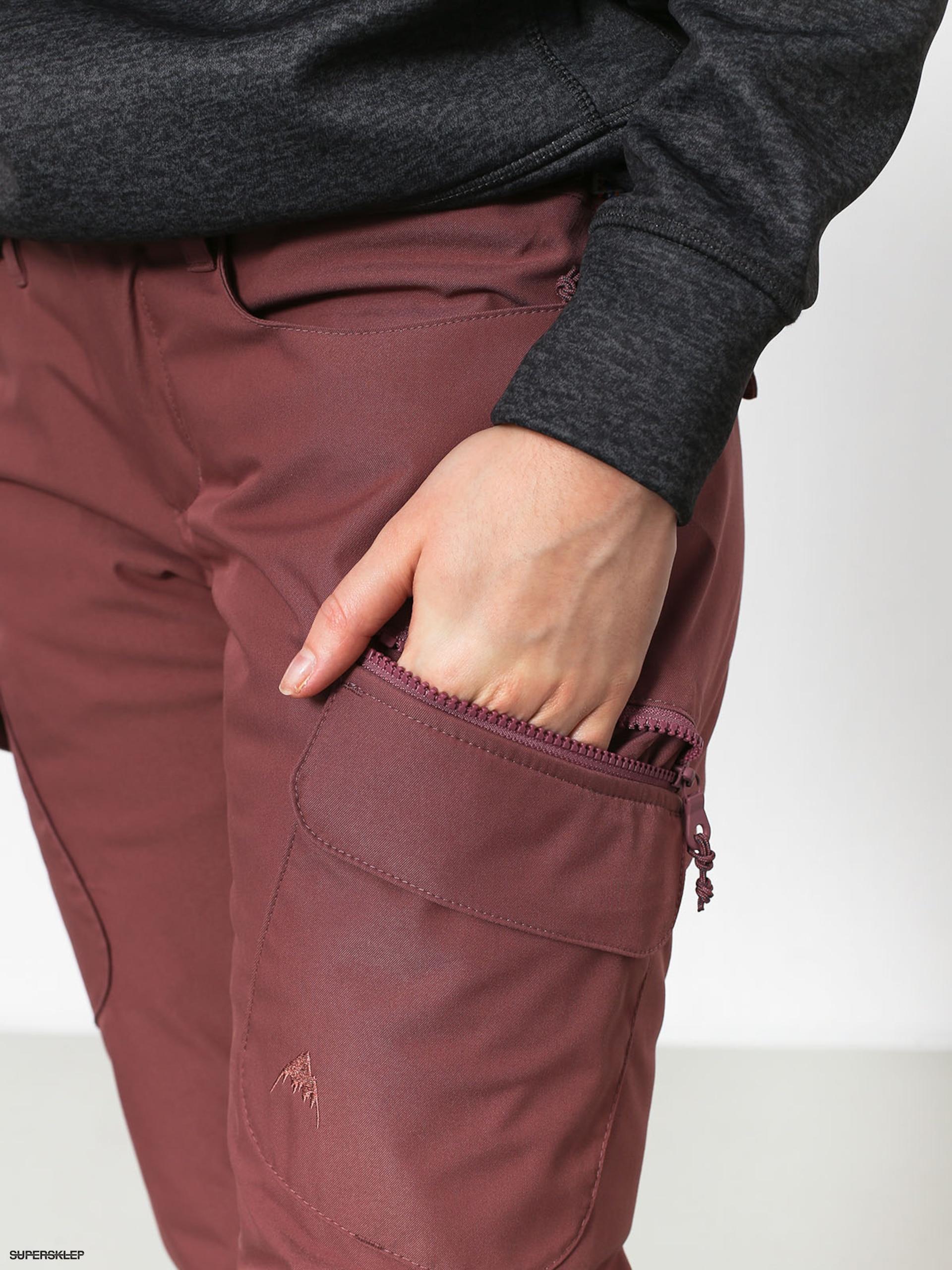 Damskie Spodnie snowboardowe Burton Gloria Ins (rose brown)