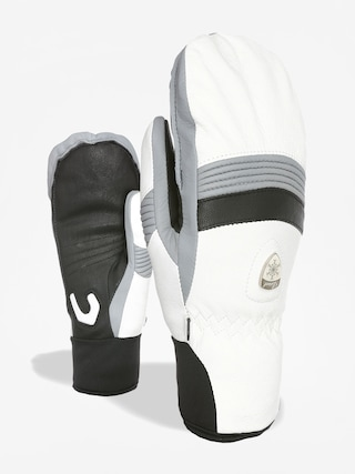 Rękawice Level Off Piste Leather Mitt Wmn (white)