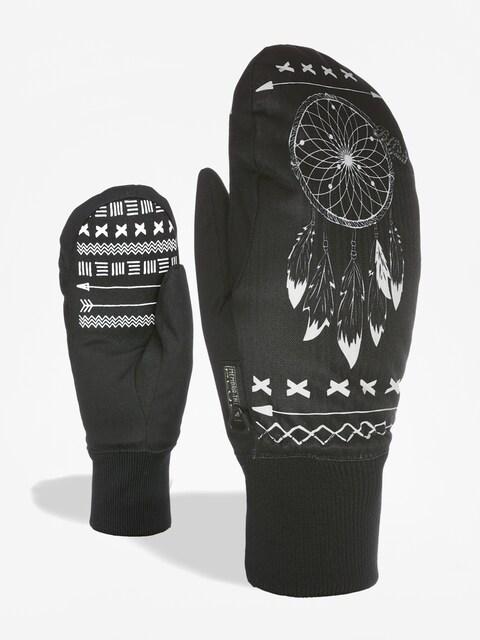 Rękawice Level Bliss Coral Mitt Wmn (black white)