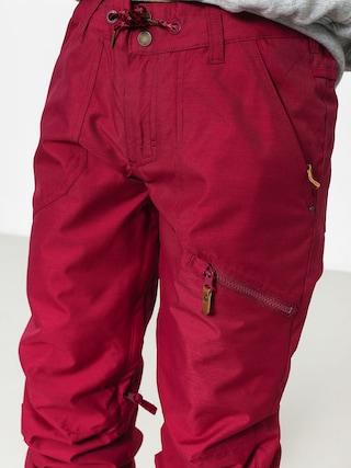 Spodnie snowboardowe Roxy Nadia Wmn (beet red)
