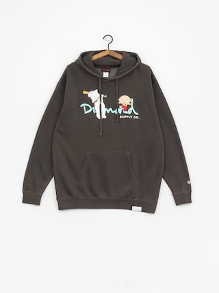 Bluza z kapturem Diamond Supply Co. Family Guy Og Script (black)