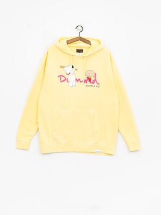 Bluza z kapturem Diamond Supply Co. Family Guy Og Script (yellow)