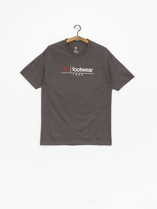 T-shirt Es Heritage Stack (charcoal/heather)