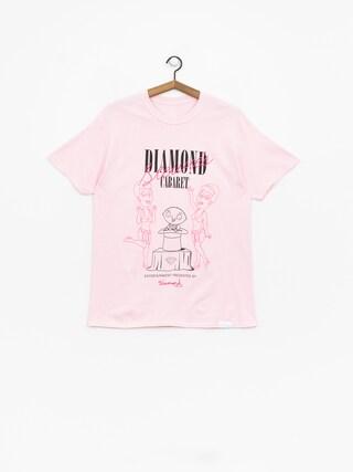 T-shirt Diamond Supply Co. Stewie'S Diamond Cabaret (pink)