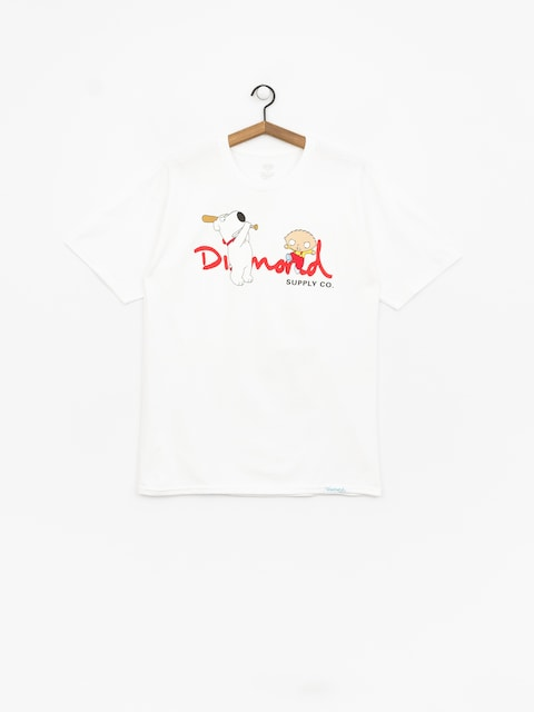 T-shirt Diamond Supply Co. Family Guy Og Script