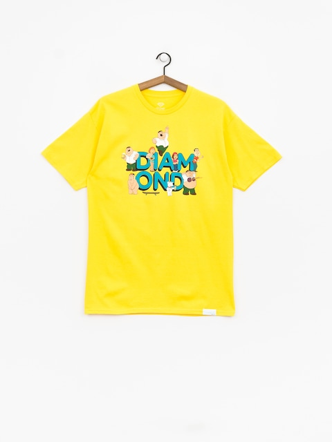 T-shirt Diamond Supply Co. Diamond X Family Guy