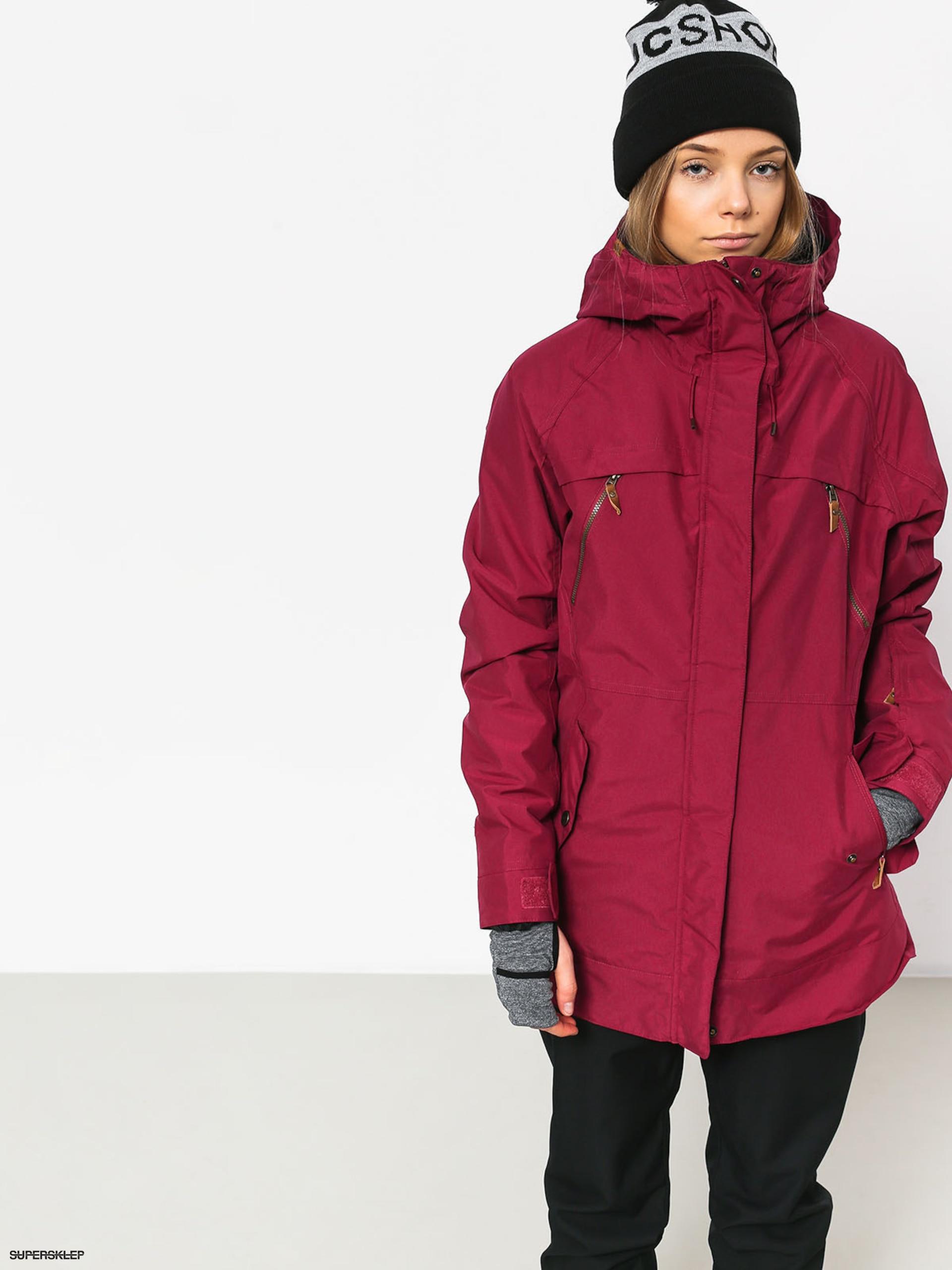 Damska Kurtka snowboardowa Roxy Tribe (beet red)