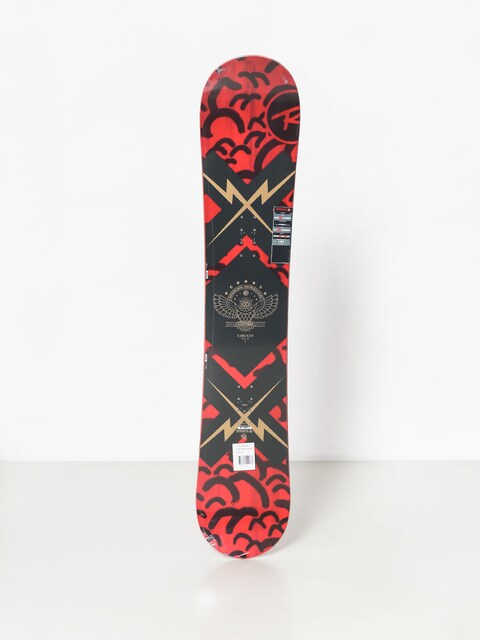 Deska snowboardowa Rossignol Circuit (red/black/red)