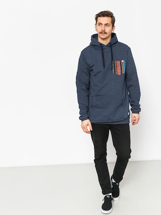 Bluza z kapturem Malita Hood Pocket HD (heather navy)