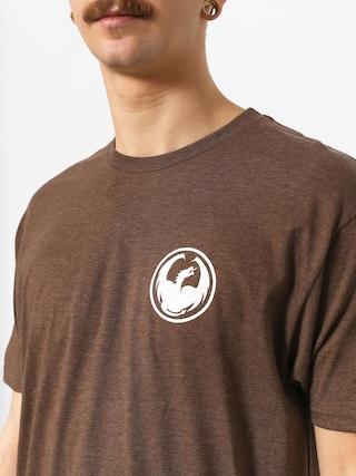 T-shirt Dragon Icon (brown heather)