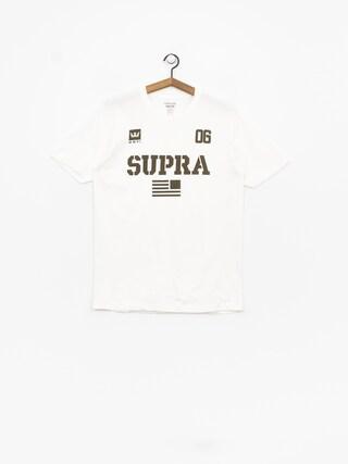 T-shirt Supra Team Usa (white/dk olv)