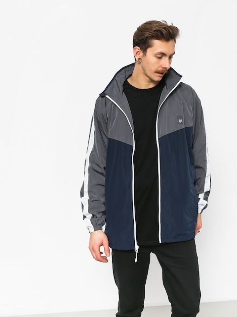 Kurtka Es Laps Mock Neck (navy/grey)
