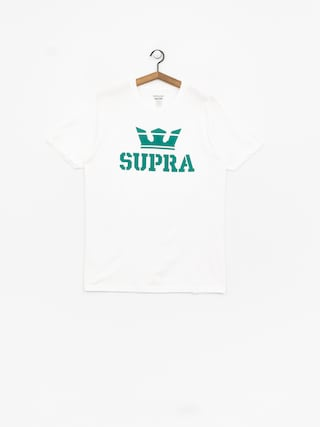 T-shirt Supra Above Regular (white/tea)