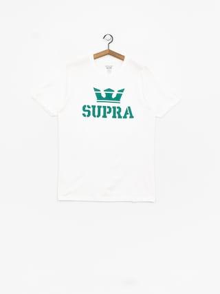 T-shirt Supra Above Regular (white/tea)