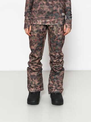 Spodnie snowboardowe Burton Vida Wmn (moss camo)