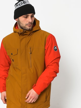 Kurtka snowboardowa Quiksilver Mission Soli (golden brown)