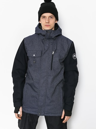 Kurtka snowboardowa Quiksilver Mission Deni (dress blues)