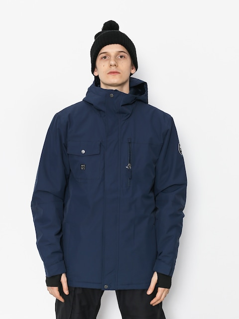 Kurtka snowboardowa Quiksilver Mission Soli (dress blues)
