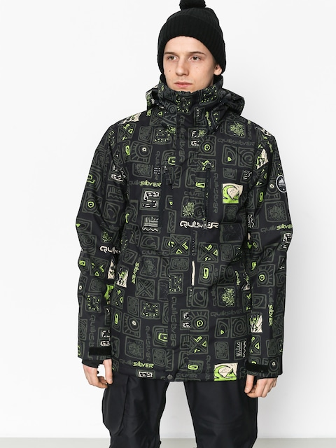 Kurtka snowboardowa Quiksilver Mission Pr (kawena grape leaf)