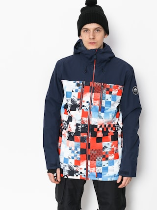 Kurtka snowboardowa Quiksilver Mission Blck (money time flame)