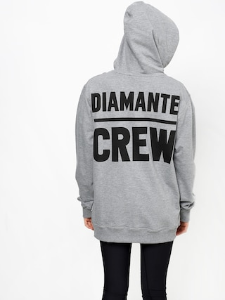 Bluza z kapturem Diamante Wear Diamante Crew (grey melange)