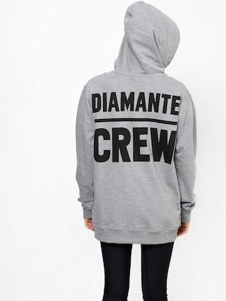 Bluza z kapturem Diamante Wear Diamante Crew (grey melange)