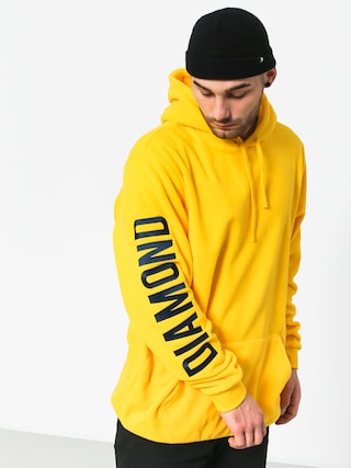 Bluza z kapturem Diamond Supply Co. Polar HD (yellow)