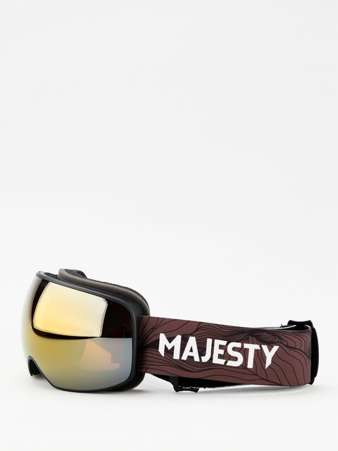 Gogle Majesty The Force S (black/ancient gold)