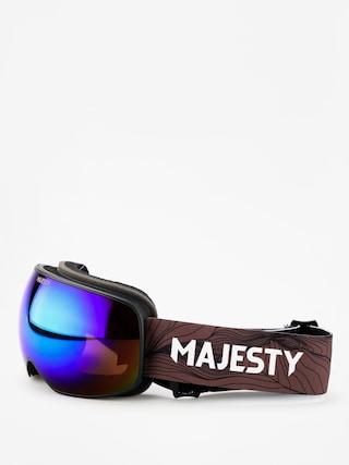 Gogle Majesty The Force S (black/ultraviolet)