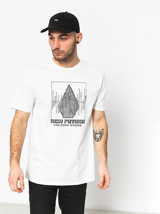 T-shirt Volcom Lay It Down Bsc (wht)