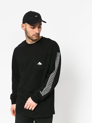 Longsleeve Emerica Team Pocket (black)