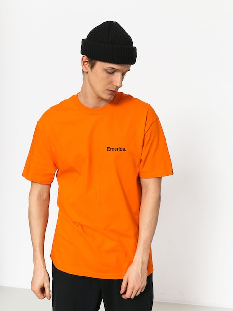 T-shirt Emerica Pure Embroidery (orange)