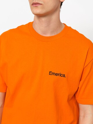 T-shirt Emerica Pure Embroidery (orange)