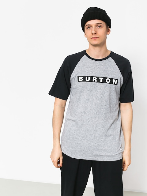 T-shirt Burton Vault (gray heather)