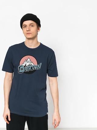 T-shirt Burton Retro Mtn (mood indigo)