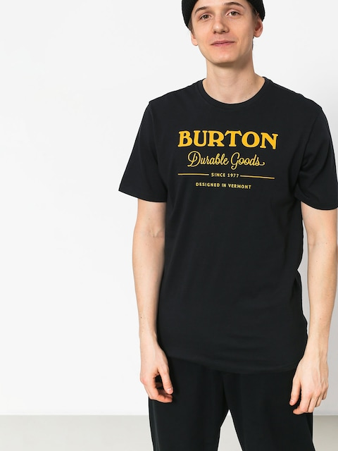T-shirt Burton Durable Gds (trublk/gold)