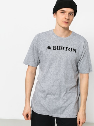 T-shirt Burton Horizntl Mtn (gray heather)