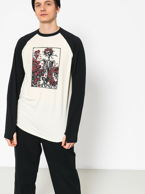 Longsleeve Burton Roadie Tech T (skull and roses)