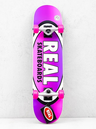 Deskorolka Real Fades (purple/pink)