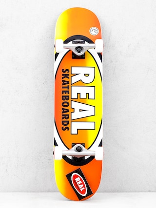 Deskorolka Real Fades (orange/yellow)