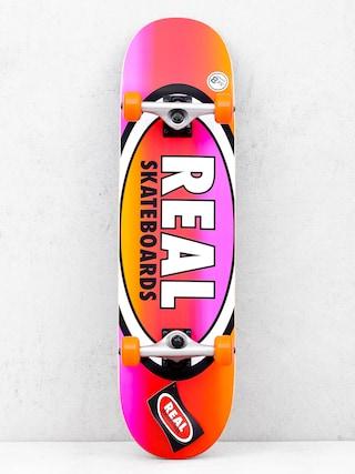 Deskorolka Real Fades (orange/pink)