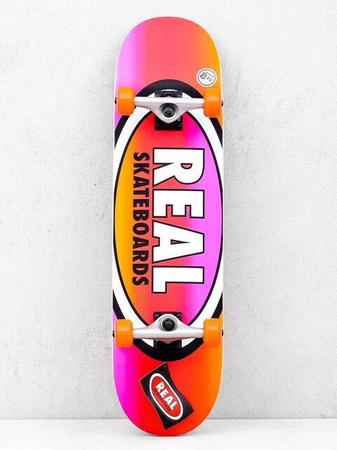 Deskorolka Real Fades (orange/pink)