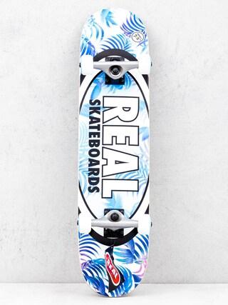 Deskorolka Real Tropics (blue/white)