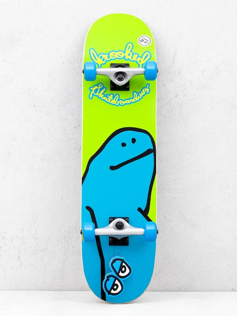 Deskorolka Krooked Team Shmoo (green/blue)