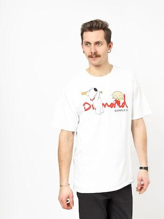 T-shirt Diamond Supply Co. Family Guy Og Script (white)