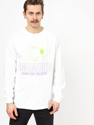 Longsleeve Diamond Supply Co. Dmnd Family Guy Collective (white)
