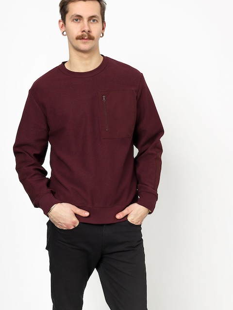 Longsleeve Nike SB Sb Top Overlays (burgundy crush)