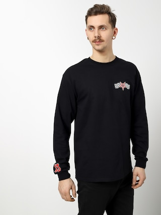 Longsleeve Thrasher Racing (black)