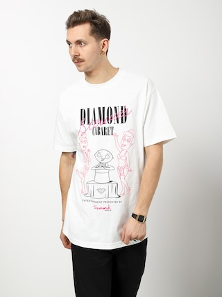 T-shirt Diamond Supply Co. Stewie'S Diamond Cabaret (white)